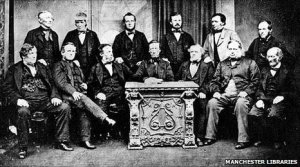 Rochdale Pioneers. Photo: Manchester Libraries