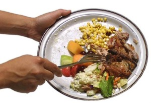 Plate_scraping_food