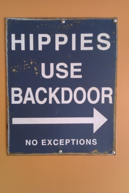 Hippies Use Backdoor_by kansasphoto