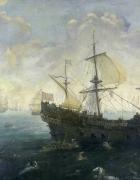Galeones de la armada española